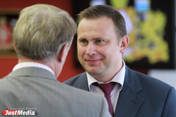 Министр промышленности Свердловской области Владислав Пинаев
