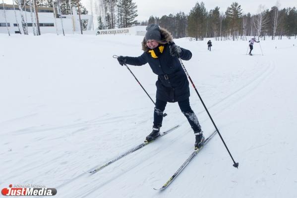Лыжная тренировка от Алыпова и дорогие угощения от шеф-повара ресторана. Четвертый день «диеты Гаффнера» богат на сюрпризы