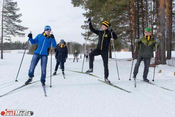 На лыжах в юбке. В компании Ивана Алыпова екатеринбургские журналисты покоряли лыжню и разрушали школьные стереотипы