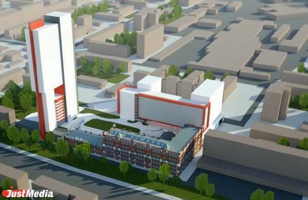 Зеленая терраса на крыше и 36-этажная высотка. К реализации проекта МФК на базе мельницы Борчанинова-Первушина планирую приступить уже в 2016 году