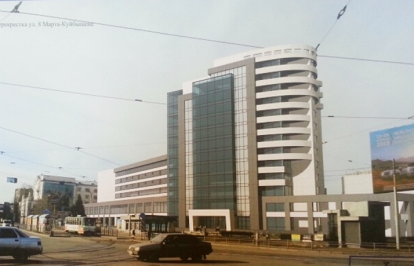 Градсовет отклонил проект нового корпуса УрГЭУ: «Козырное место с урбанистическим натюрмортом не должно быть испорчено»