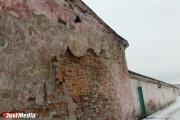Обвалившаяся стена МУПа на «Овощебазе №4» искалечила екатеринбуржца
