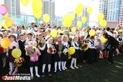 «За моей спиной настоящий дворец». JustMedia.ru встретил первое сентября в новенькой школе в Академическом