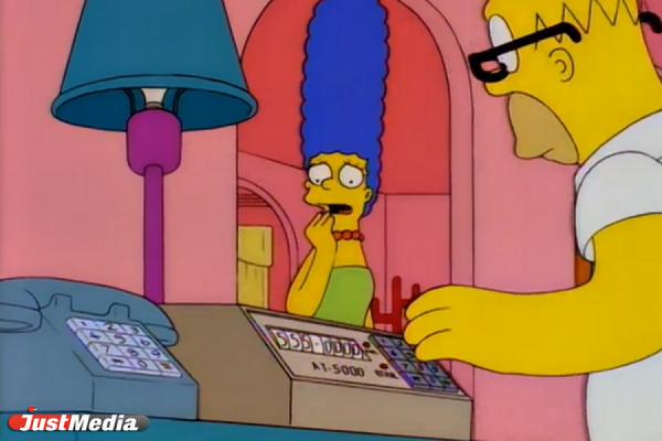 """ФОТО: м/с """"Симпсоны"""", канал FOX."""