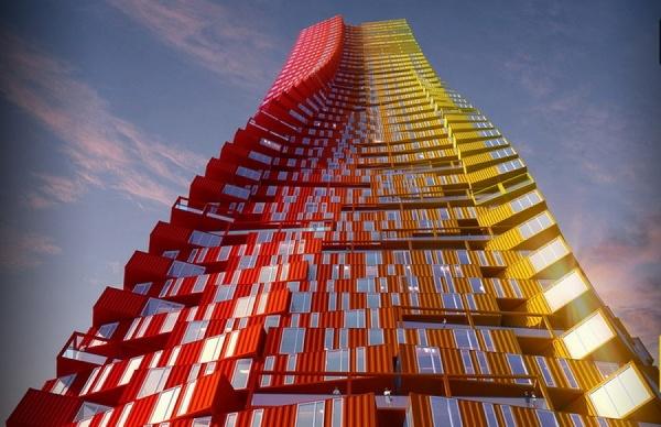 «Из трущоб — в небоскребы». В Индии построят жилой дом из контейнеров