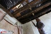 «Подозреваем, что его просто нет»: жители Городка чекистов ищут проект реконструкции сгоревшей кровли. ФОТО