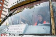 Юлия Юсипова работает водителем трамвая уже 10 лет