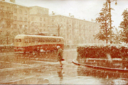 Снегопад на Ленина, 1965 год. «Ностальгия по Свердловску-39», ФОТО: из личного архива семьи Волковых (Суриковых), 1723.ru