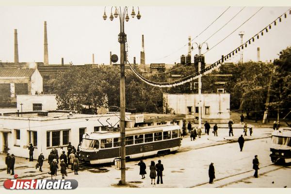 Конечная станция «Уралмаш», 1979 год. ФОТО ТТУ