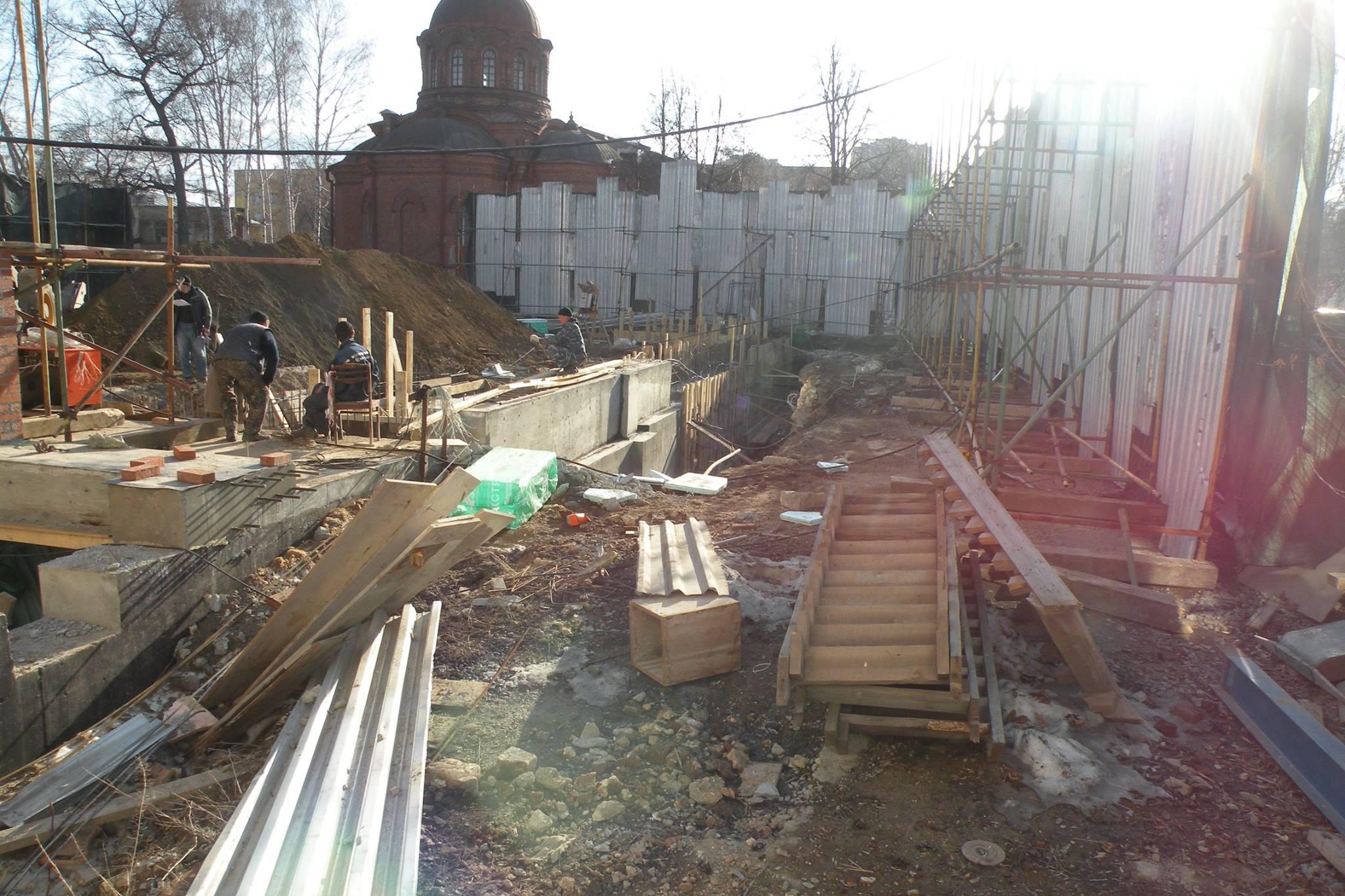 Управление поохране монументов завтра побывает наместе сноса Успенской церкви