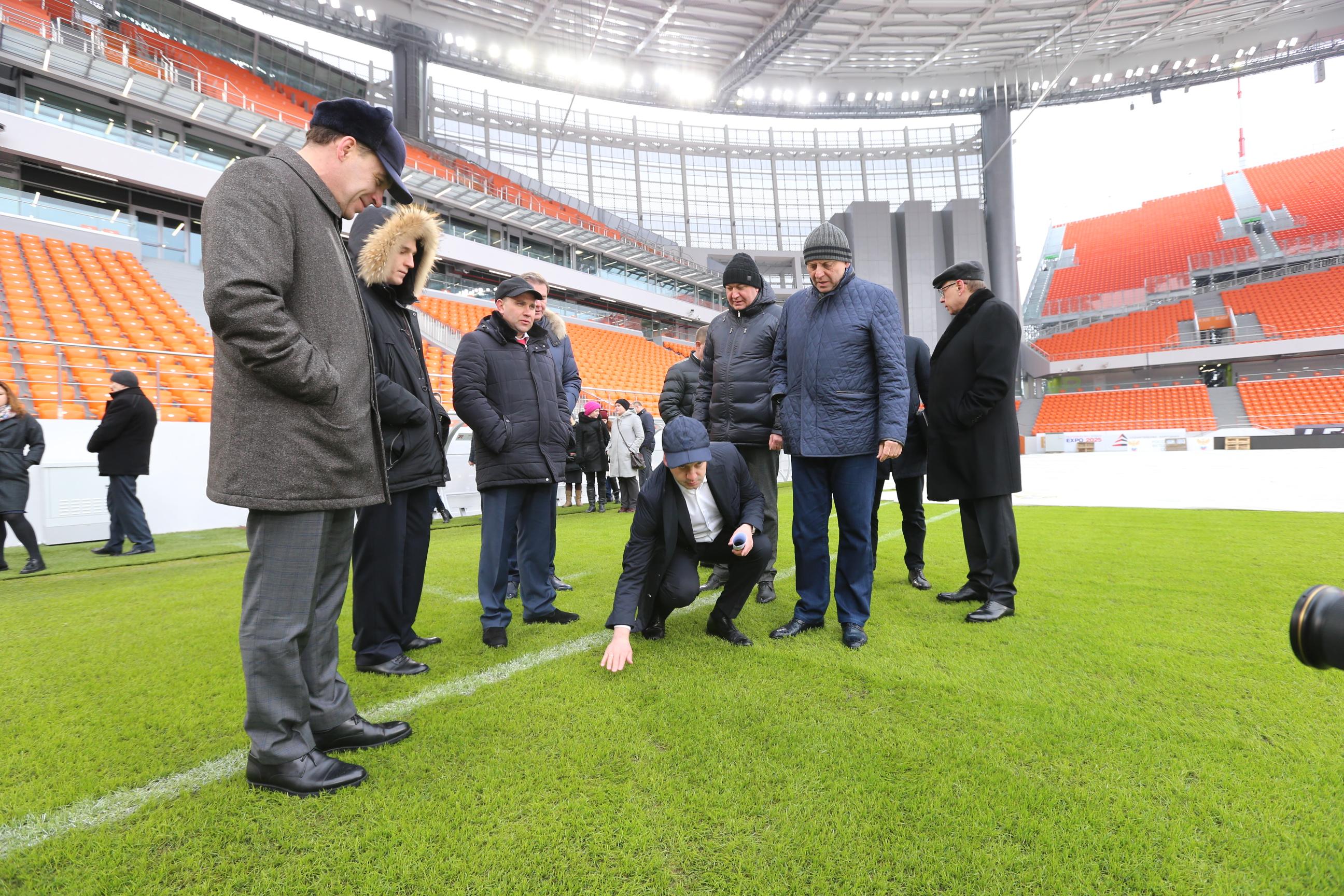 Дворкович назвал сроки сдачи стадиона ЧМ-2018 вСамаре