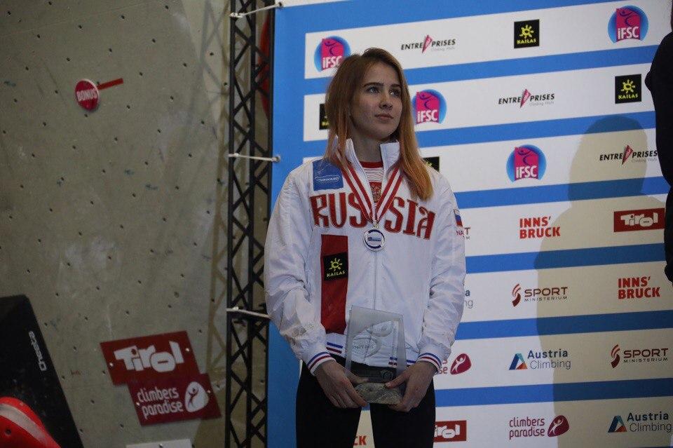Скалолазка Пантелеева - о серебряной медали: «Было очень тяжело, потому что на проведение многоборья у одной группы требуется семь часов»