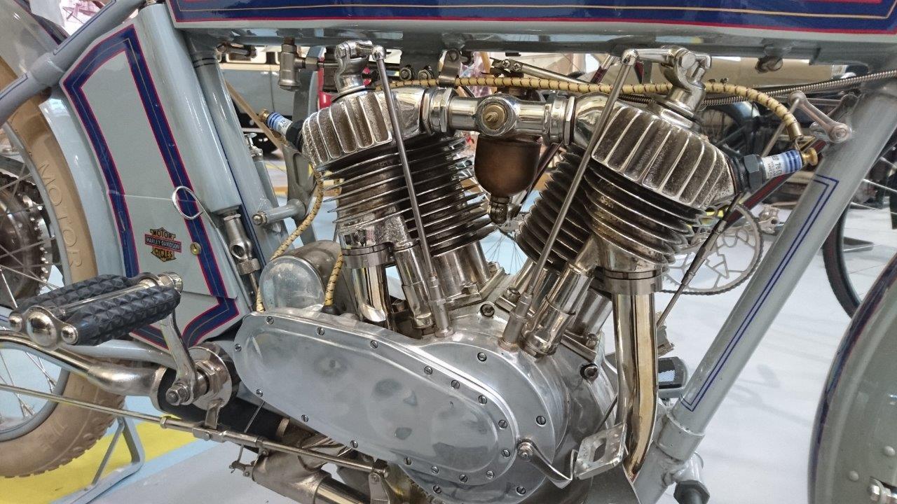 Вмузее УГМК появился Harley-Davidson 1914 года