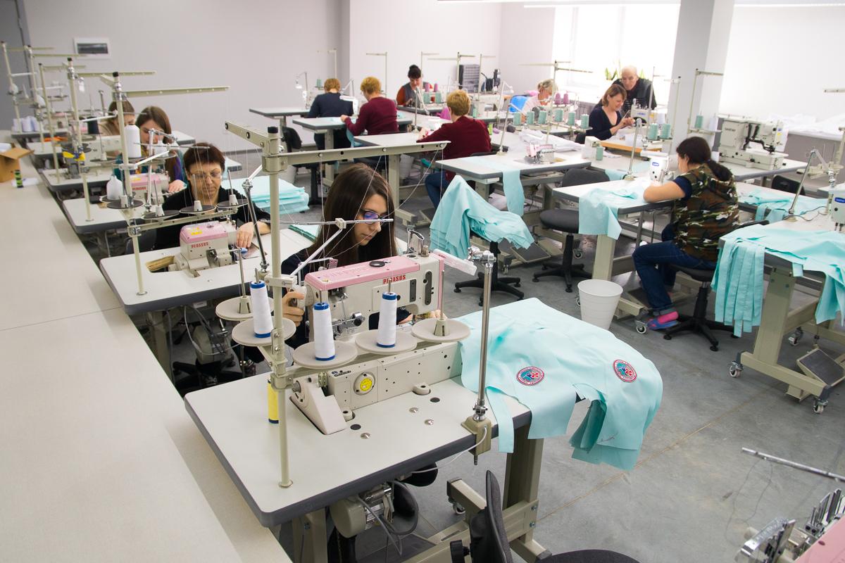 Новая фабрика спортивной одежды вЕкатеринбурге