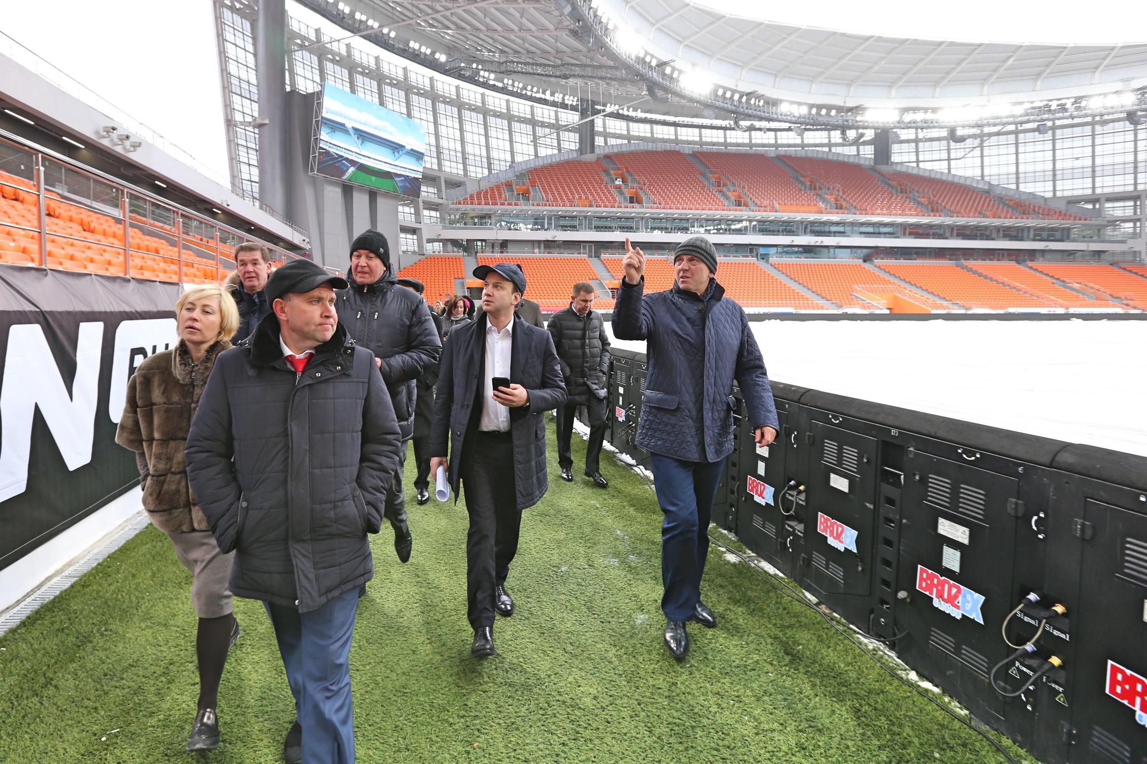 Аркадий Дворкович: «Самара-Арена» должна быть введена встрой к25апреля