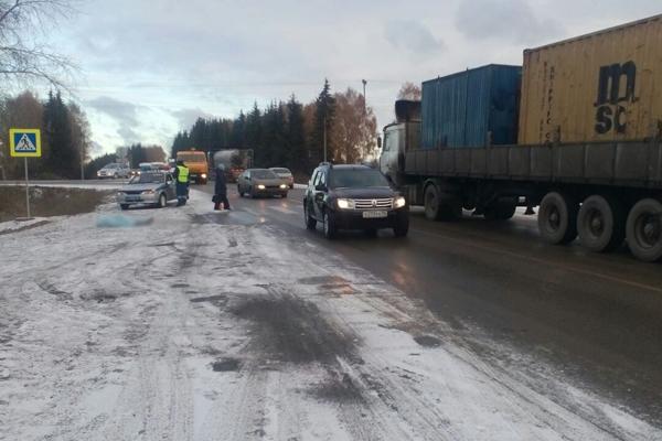 Вселе Николо-Павловское шофёр  «Газели» сбил 3-х  пешеходов