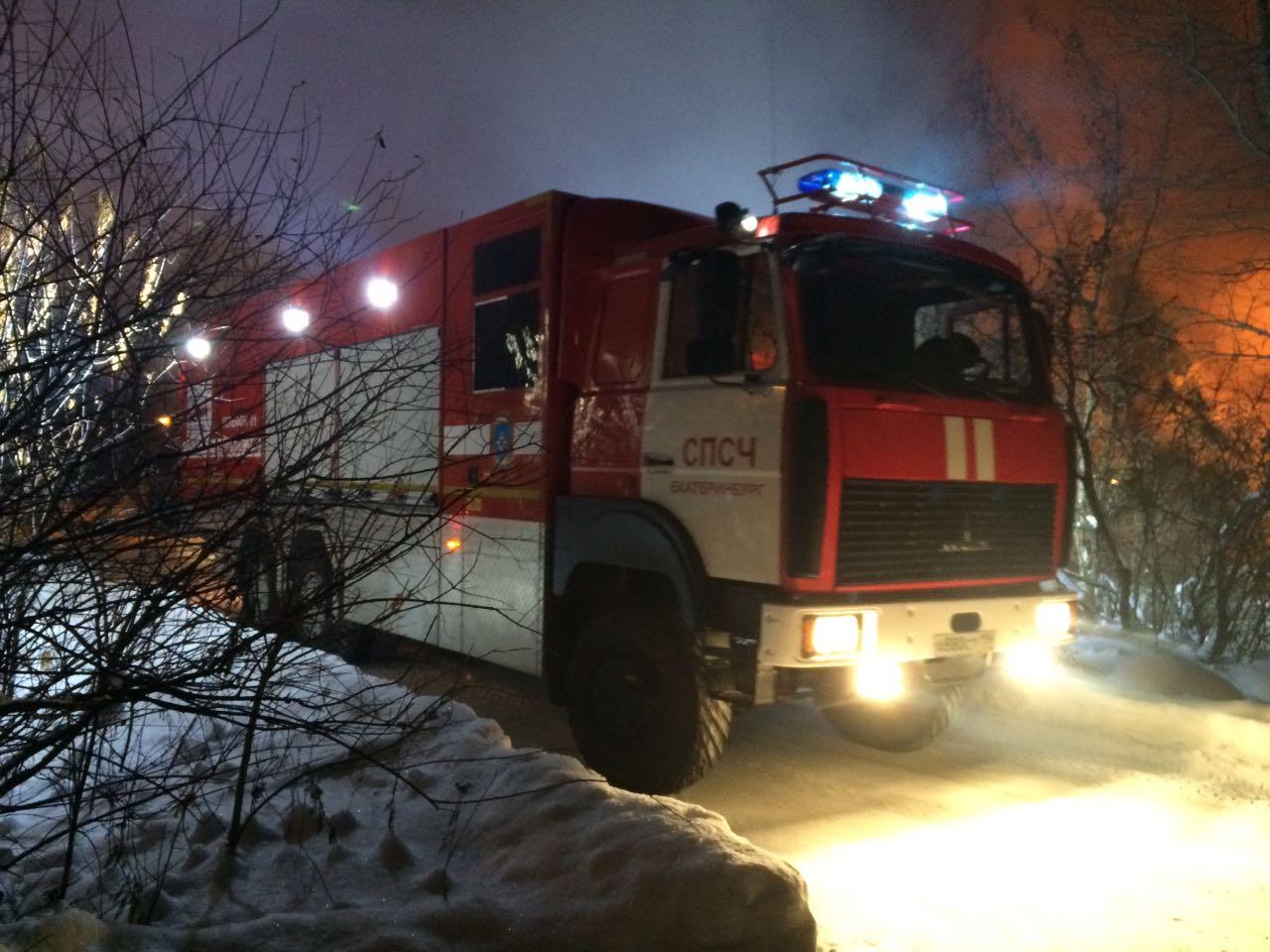 ВБерезовском ночью сгорел барак: есть жертвы