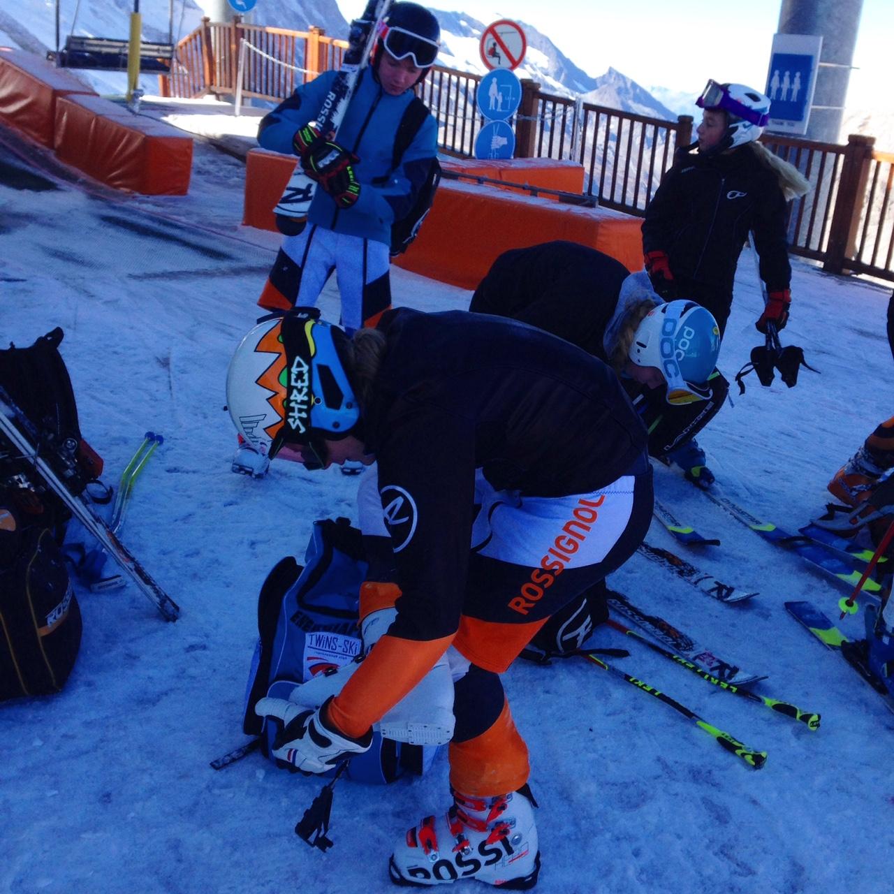 Программу секции по лыжам