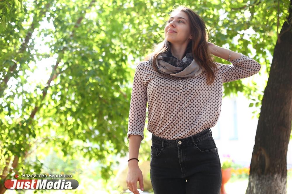 Журналист Анна Хурбатова: «Наступлению осени я радуюсь, ведь можно гулять, шуршать листьями и любоваться солнышком». В Екатеринбурге +6. ФОТО, ВИДЕО