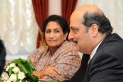 Сегодня в Екатеринбурге Чрезвычайный и полномочный посол Индии в России Аджай Малхотра.