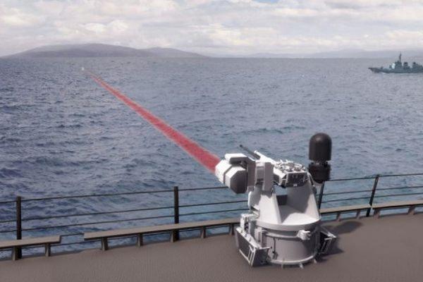 В США испытали мощную лазерную пушку