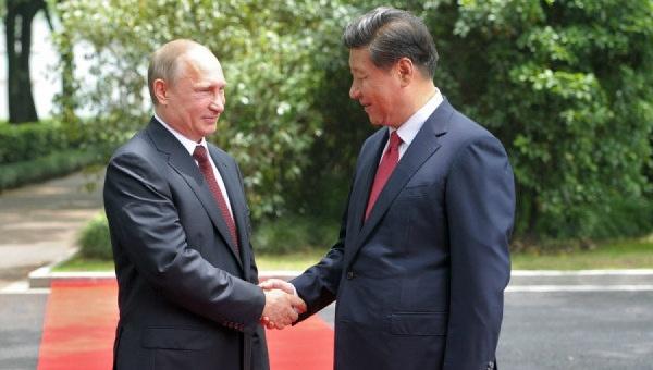 Президент России Владимир Путин и с председатель Китайской Народной Республики (КНР) Си Цзиньпин