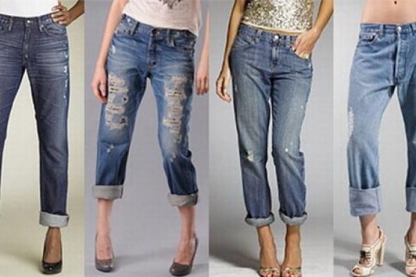 Демократичные фасоны женских джинсов нового сезона