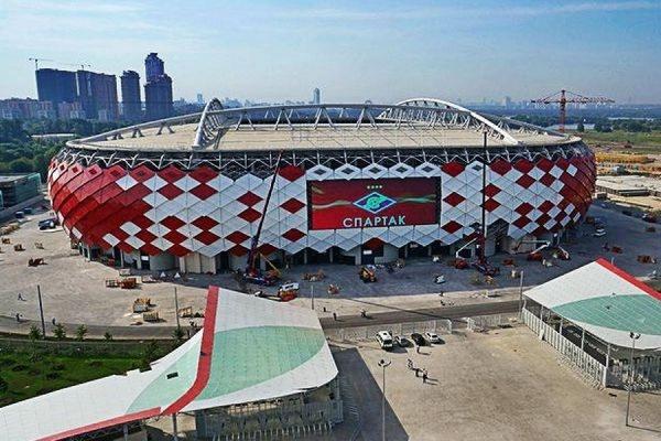 спартак стадион новый фото