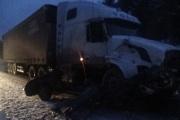 На трассе Пермь—Екатеринбург в лобовом столкновении тягача и ВАЗ-2114 погиб водитель легкового автомобиля