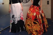 Дизайнер Нина Ручкина презентовала «патриотическое» платье с Путиным