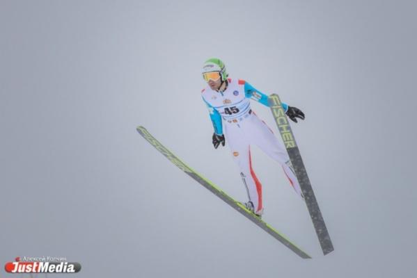 Вадим Шишкин уже прекратил борьбу за победу в седьмом этапе Кубка мира по прыжкам с трамплина