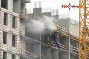 В Екатеринбурге горел строящийся дом