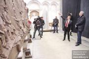 Якоб поставил задачу доделать Широкореченский мемориал к апрелю