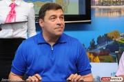 Отдыхающий Куйвашев подписал три указа и поздравил свердловчан с годовщиной основания области