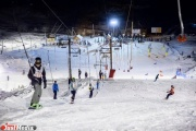 Более ста участников собрали соревнования по сноуборду в Екатеринбурге