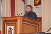 Сотрудников свердловской полиции познакомили со Священным писанием