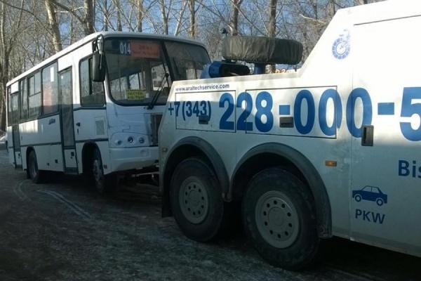 В Екатеринбурге задержан водитель маршрутки — у него не оказалось водительских прав и удостоверения личности