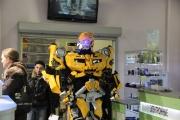 В Екатеринбурге робот парализовал работу торгового центра