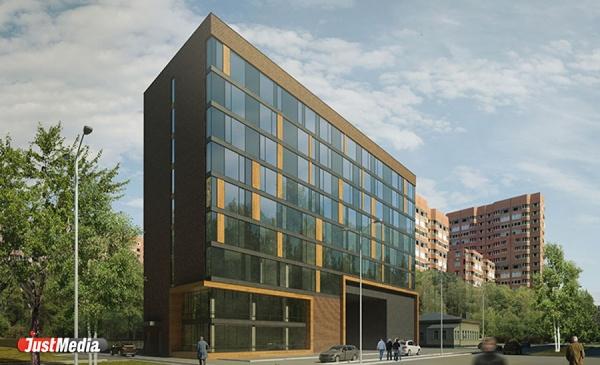 В Екатеринбурге на Декабристов построят гостиницу с двухуровневыми пентхаусами и каминами