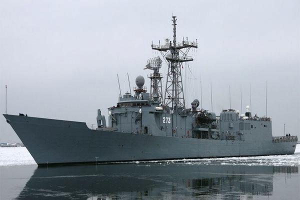 В Балтийском море во время маневров столкнулись два польских военных корабля