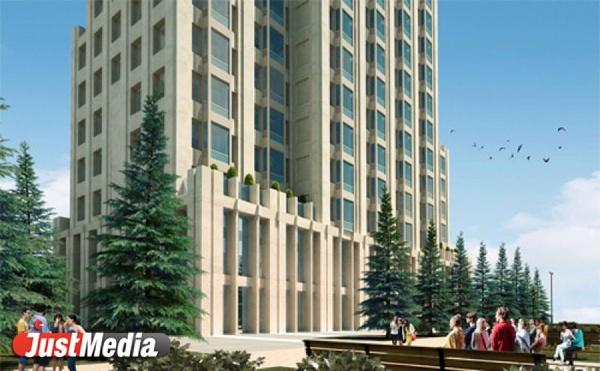 На берегу Исети построят апартаментный небоскреб бизнес-класса. ФОТО