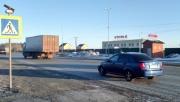 На Тюменском тракте водитель иномарки сбил на «зебре» пешехода