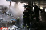 В Дегтярске при пожаре погибли 35-летняя женщина и ее 11-летний сын