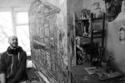 Екатеринбургские художники представят горожанам полотна из старинных газет и картины с изображением уличных собак