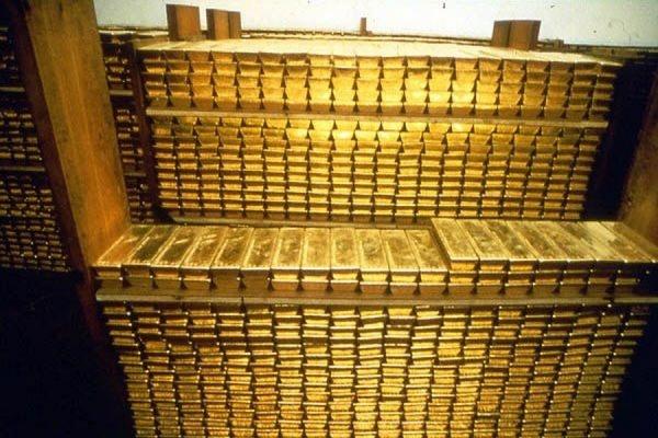 Золотовалютные резервы России упали до минимума с апреля 2007 года