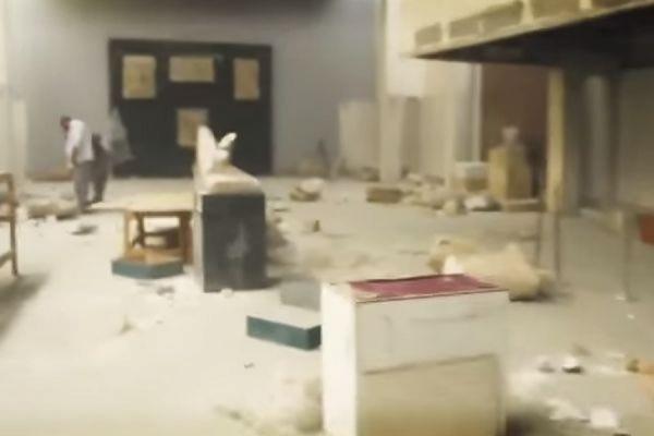 Террористы из ИГ уничтожили древние артефакты, находившиеся в музее в Мосуле