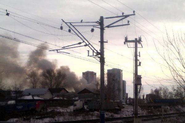 В результате пожара на улице Самолетной погиб человек