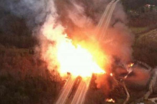 В Тверской области произошел взрыв на газопроводе