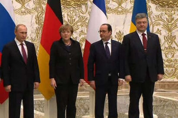 Лидеры стран «нормандской четвёрки» отметили улучшение ситуации на востоке Украины