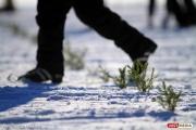 Из-за нехватки снега чуть не сорвался лыжный марафон «Европа-Азия»